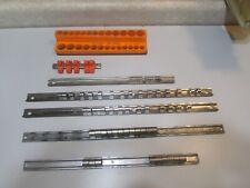LOT 244 SNAP-ON & MAC TOOLS SOCKET ORGANIZING RAILS...... USED