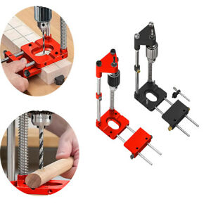 Drill Locator Woodworking Punch Guide Adjustable Hole Drilling Template Tool