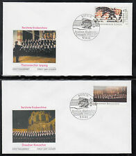 K-005) Germany 2003 First Day Cover  -  Famous boys' choirs of 3 FDC