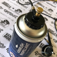 Model Making Airbrush Replacement Propellant Air 300ml can Badger UK