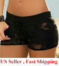 Sexy Women Lace Thong G-string Panties Lingerie Underwear  T-back short