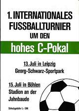 1990 FC verde-blanco Leipzig, química Böhlen, FC shalke 04, roda kerkrade J.C.