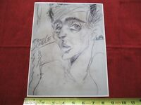 VINTAGE RARE PHOTO of ART of EGON SCHIELE AUSTRIAN PAINTER KLIMT protege #lob-C