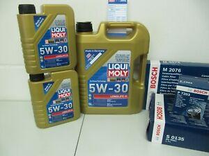 BOSCH Ölwechselsatz und 7Ltr. LM 5W30-LL Motoröl BMW 5er F10/F11 und 7er F01