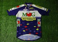 Warm Cycling Shirt Jersey Maglia Trikot Camiseta Mog Technogym Nalini Size M