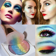 Rainbow Highlighter Powder Makeup Cosmetic Shimmer Eyeshadow Palette Blusher
