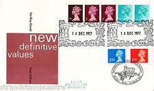 1977 10 Multi valore BOBINA-AG BOND COVER-raddoppiato con 1997 1st / 2nd NVI's