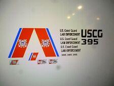 US Coast Guard Law Enforcement   Police  Patrol Car Decals 1:24