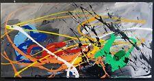 GONZO V. abstrakt MALEREI Kunst ACRYL Original BILD Gemälde UNIKAT modern