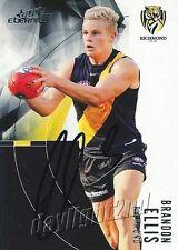 ✺Signed✺ 2012 RICHMOND TIGERS AFL Card BRANDON ELLIS