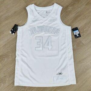 NWT Giannis Antetokounmpo Bucks Nike MVP Swingman Jersey size 44 New Mens