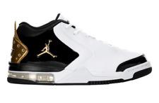 Nike Air Jordan Big Fund PRM Premium White/Black/Gold Shoes Size 8.5 #CI2216-100