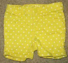 EUC Baby Gap Yellow White Polka Dots Shorts Size 18-24 18 24 Months