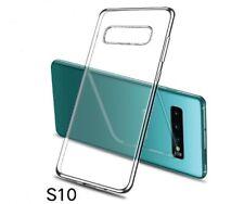 Samsung Galaxy S8 S10 S9 Plus Thin Clear Slim Soft Case Cover