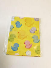 Baby Shower Ducklings Duck Gift Wrap American Greetings Yellow Wrapping Paper