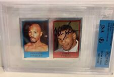 SIGNED! 1986 PANINI SUPERSPORT MIKE TYSON RC ROOKIE UK FOIL