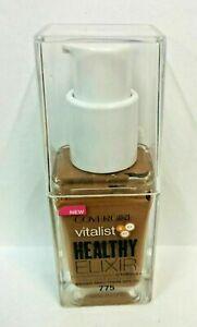 Covergirl Vitalist Healthy Elixir SPF20 Foundation w/ vitamins #775 SOFT SABLE