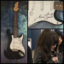 GFA The Ronettes Singer * RONNIE SPECTOR * Signed Electric Guitar PROOF AD1 COA