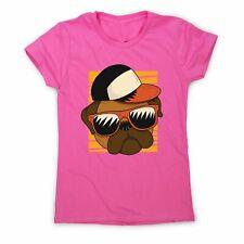 Cool pug - funny women's t-shirt