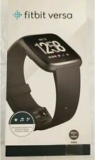 Fitbit Versa Fitness Watch - Black Aluminum (FB504GMBK)