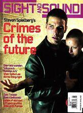 Sight and Sound UK Film August 2002 Minority Report Steven Spielberg Spike Lee