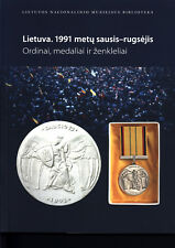 Lithuania book orders, medals and badges 1991 01-09 early independence