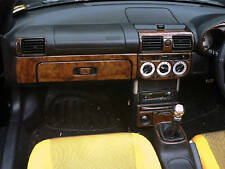 TOYOTA MR 2 MR2 MK III INTERIOR BURL WOOD DASH TRIM KIT SET 2000 01 02 03 04 05