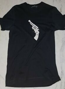 Dolce Gabbana T-Shirt Size Italy 50 Medium Black Pistol