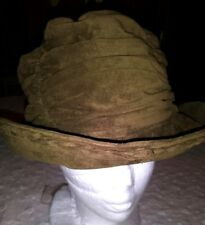 Vintage Kokin New York Bucket Hat Velvet eff242df1bf4