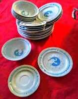 Moonlight Goose/Geese dinnerware set