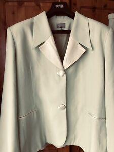 Pastel Lime Ladies Suit. Separates. Size 22.