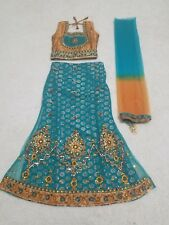 Indian Bollywood Girls 4 to 6 Size 24 Designer Dress Chaniya Choli Cotton-Silk