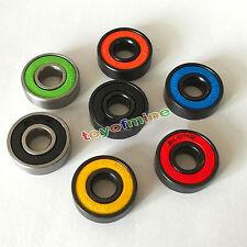 Color aleatorio 3PCS 608 rodamientos bolas para Tri-Spinner EDC Juguete Regalos