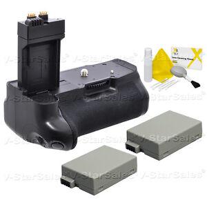Battery Grip for Canon EOS 550D 600D 650D 700D BG-E8 + 2X LP-E8 Batteries