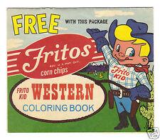 Frito Kid Western Coloring Book Giveaway Frito-Lay Fritos Corn Chips