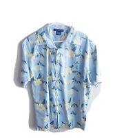 Vintage Tommy Hilfiger Hawaiian Short Sleeve Button Up Shirt Size Large L