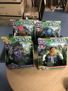 Teenage Mutant Ninja Turtles  Large Action Figure Bundle X 4  All New And Sealed