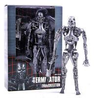 "NECA T-800 Terminator Endoskeleton 7"" Action Figure Arnold Schwarzenegger 1:12"