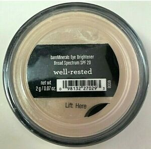 bare Minerals Brightener Well-Rested 2g Face Color Full Size Click Lock Go NEW