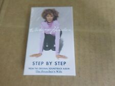 WHITNEY HOUSTON STEP BY STEP FACTORY SEALED CASSETTE SINGLE C3