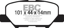 EBC Ultimax Rear Pads for Mitsubishi Outlander 2.0 Hybrid PHEV 121HP 2013 on