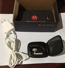 Motorola HZ770 Elite Silver 2 II Cellphone Bluetooth Ear Hook Headset