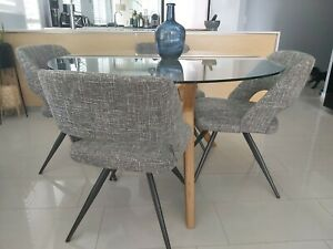 4x Dining Room Chairs - Nick Scali