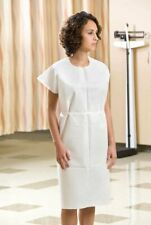"*50-Pieces* Graham Medical 30"" x 42"" Exam Gown Tissue-Heavyweight Blue 70221N"
