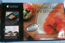 Stovetop Smoker - Camerons Gourmet Edition Mini Stainless Steel Smoker w/ Extras