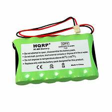 Hqrp Battery for Ademco Honeywell Lynxr-En, Lynxr-I, Lynxr-Ie / Lynxrchkit-Hc