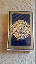 Vintage Standard Deck Playing Cards United States of America Seal Full Unused