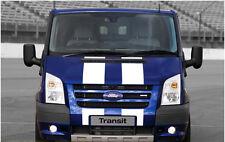 "305mm 12"" Racing Transit Van Viper Stripes Bonnet Stripe Vehicle Decals Graphics"
