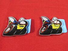 """DODGE CHARGER """"Super Bee"""" Nameplate Badge Set Of Two NEW OEM MOPAR"""