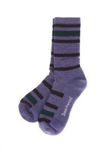 Smartwool 251605 Womens Hike Light Cushion Crew Socks Lavender Size Medium